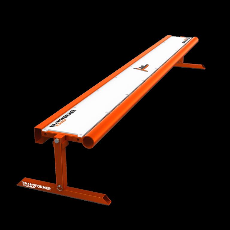 Tranformer Rails 8ft Bench-Orange