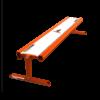 Transformer Rail 6ft Bench Orange