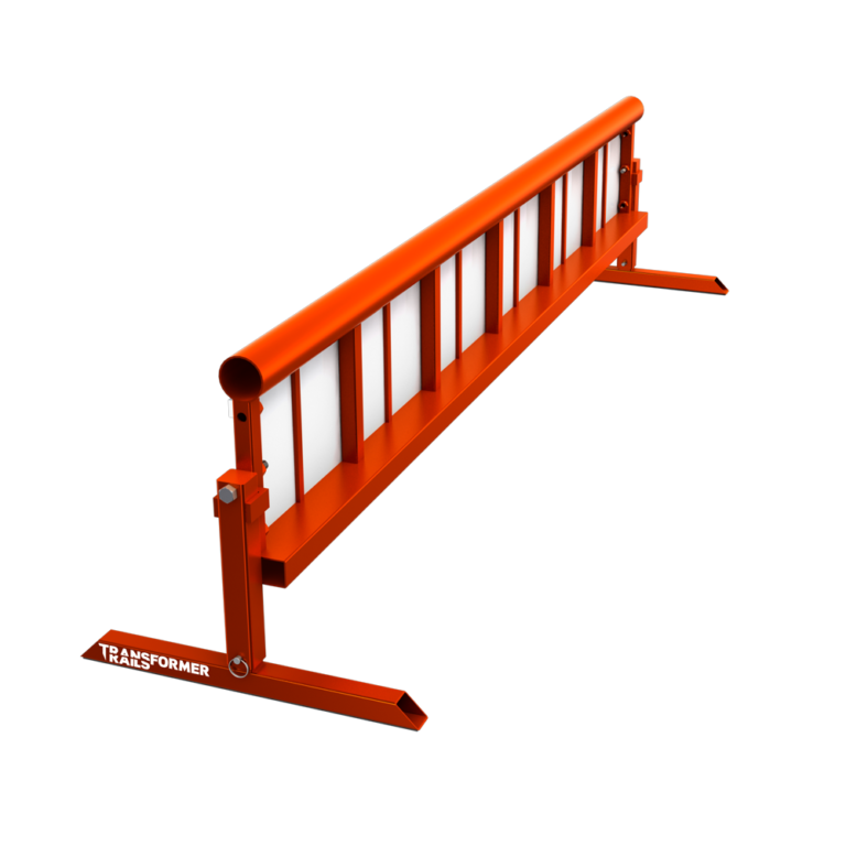 Transformer Rail 6ft Round Orange