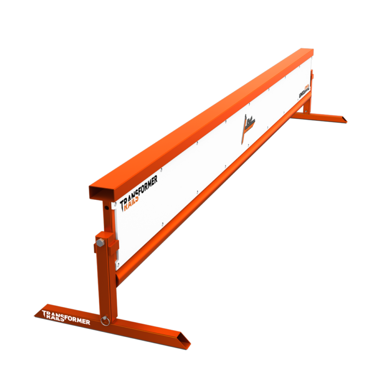 TR-Transformer Rail 8ft Flatbar Orange