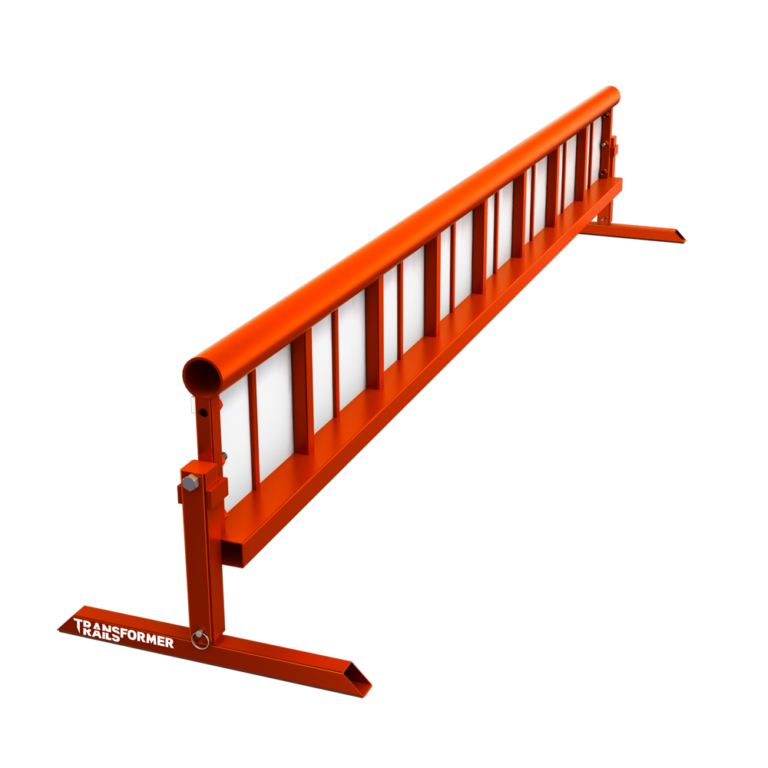 TR Transformer Rail 8ft Round Orange