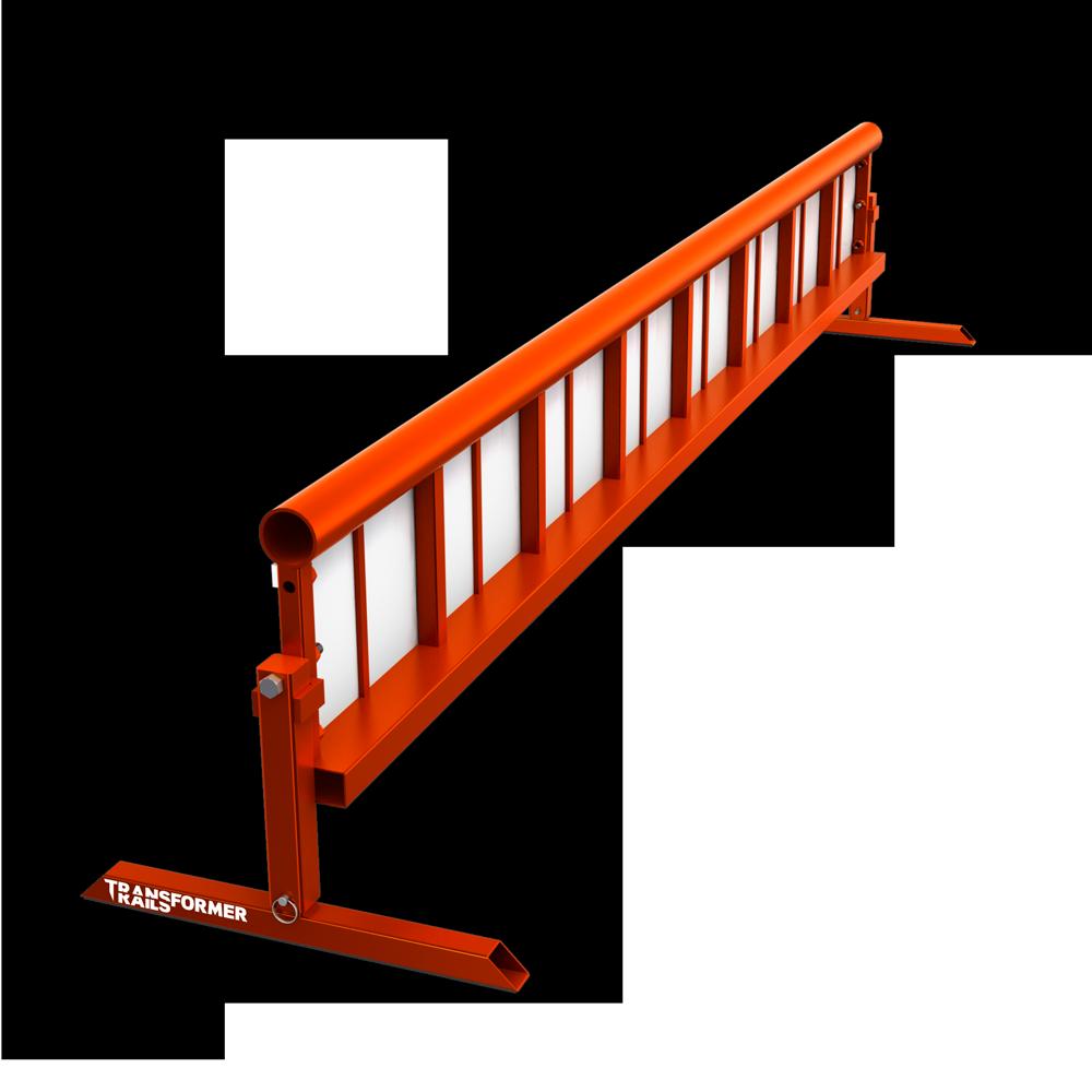 TR Transformer Rail 8ft Round Orange