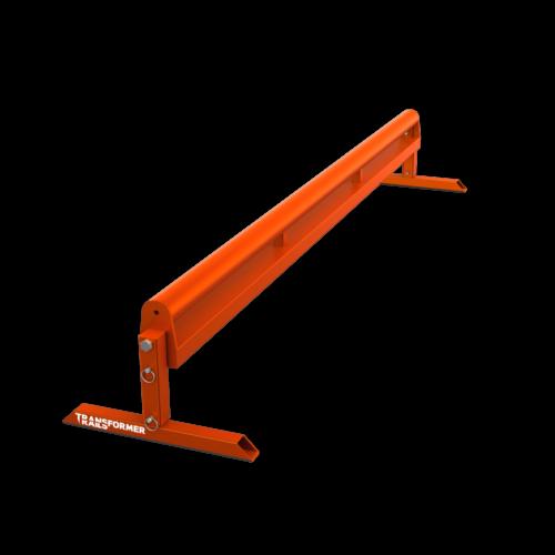 Flip Rail 6ft Round Orange